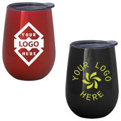 10 Oz. Electroplated Stemless Wine Cup
