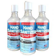 16 Oz Gel Hand Sanitizer 70% Alcohol Usa