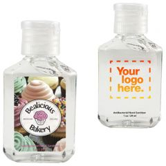1 Oz Promotional Hand Sanitizer Gel