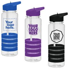 24 Oz. Tritan Banded Gripper Bottle
