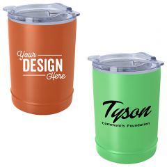 2-In-1 Copper Insulated Beverage Holder And Tumbler