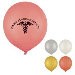 36 Inch Metallic Tuf-Tex Balloon
