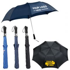 58 Inch Auto Open Folding Golf Umbrella