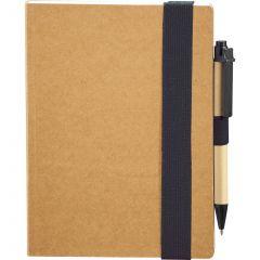 5.5 Inchx 7 Inch Eco Perfect Bound Notebk W/ Pen