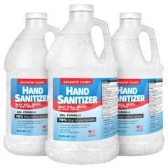64 Oz Gel Hand Sanitizer Refill 70 Percent Alcohol Usa
