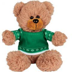 6 Inch Ugly Sweater Sitting Plush Bear