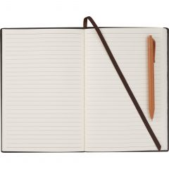 6 Inch X 8.5 Inch Bari Notebook With Pen