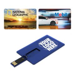 Credit Card Shaped USB 3.0 Model