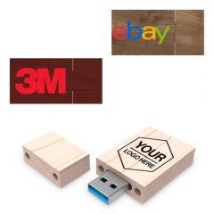 Custom Wood USB Flash Drive