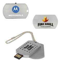 Dog Tag USB Flash Drive