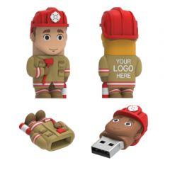 Firefighter USB Flash Drive Male