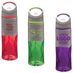 Geometric BPA Free Tritan Sport Bottle 28Oz