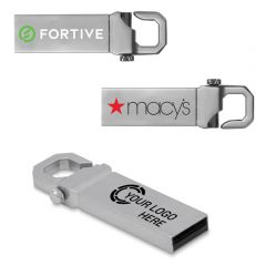 Heavy Duty Keychain Flash Drive
