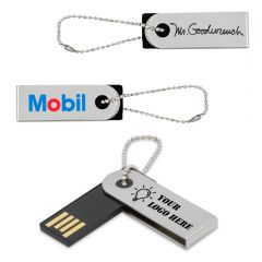 Mini Swivel Custom USB Drive