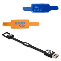 Rubber Wristband USB Flash Drive