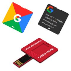 Square Business Card USB