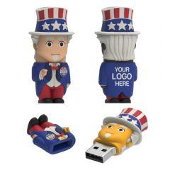 Uncle Sam Vote USB Flash Drive 3.0 Model