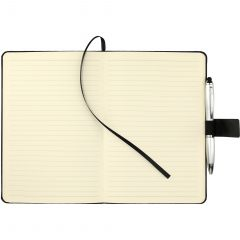 5.5 Inch X 8.5 Inch Heathered Executive Bound Notebook