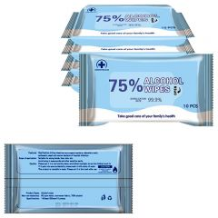 Alcohol Wipes 10 Pieces Per Pack Air