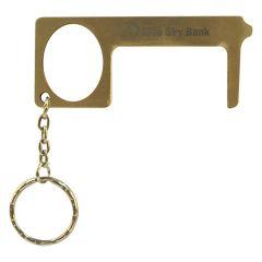 Brass Door Opener Touch Tool