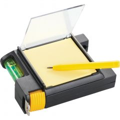 Built2Work 3 In 1 Tape Measure With Pen And Level