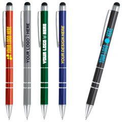 Charleston Metal Ballpoint Pen-Stylus