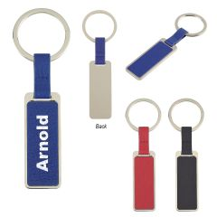 Chroma Leatherette Key Tag