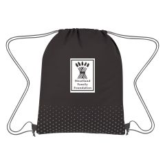 Connect The Dots Non-Woven Drawstring Bag