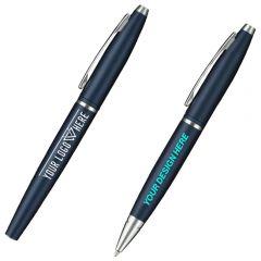 Cross Calais Matte Metallic Midnight Blue Pen Set