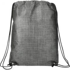 Crossweave Heat Sealed Drawstring Bag
