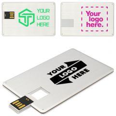 Custom Metal Credit Card Flash Drive