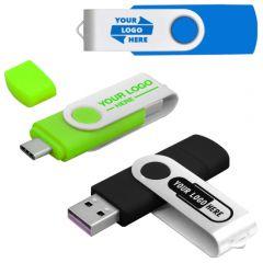 Custom OTG USB-C Flash Drive