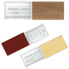 Custom Wood Crystal Flash Drive