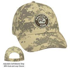 Digital Camouflage Cap