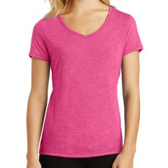 District Made Ladies' Perfect Tri V-Neck Tee