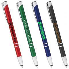 Electra Metal Ballpoint Pen-Stylus