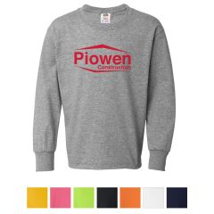 Fruit Of The Loom Youth Hd Long-Sleeve T-Shirt