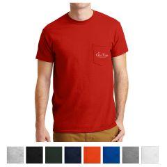 Gildan Dryblend 50 Cotton/50 Poly Pocket T-Shirt