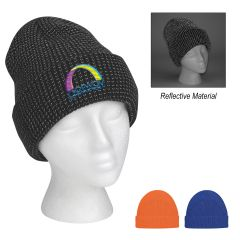 Go And Glow Reflective Beanie With Cuff