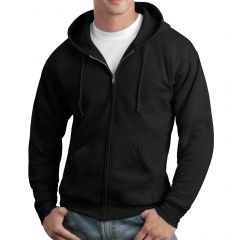 Hanes Ecosmart Full-Zip Hooded Sweatshirt
