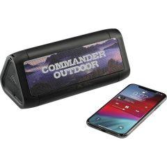 High Sierra Waterproof Speaker And Wireless Powerban