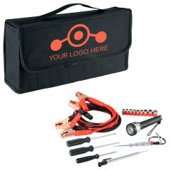 Highway Jumper Cable And Tools Set