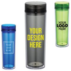 Hot And Cold Skinny Tumbler 15Oz