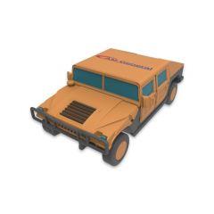 Humvee Shaped USB Flash Drive