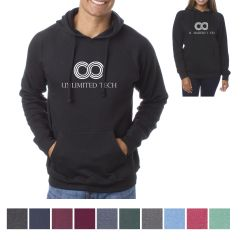 ITC Unisex Special Blend Raglan Hooded Pullover
