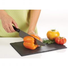 Laguiole Black Kitchen Knife And Cutting Board Set