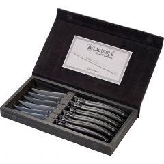 Laguiole Black Knife Set