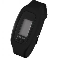 Led Pedometer Watch In Case