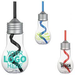 Light Bulb 20Oz Tumbler With Straw