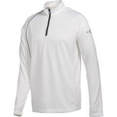 M-Puma Golf Qtr Zip Long Sleeve Top